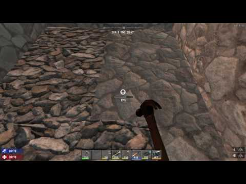 How to upgrade Flagstone Blocks - 7 Days to Die