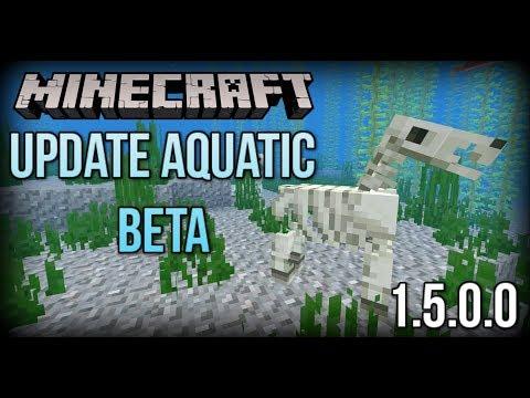 Minecraft Update Aquatic Beta - Dolphins Find Loot, Underwater Horses + MORE! (Xbox/Windows 10/PE)