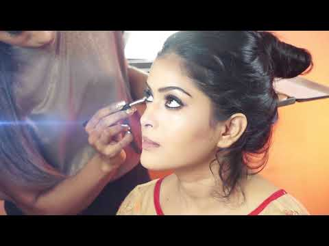 Indian Bride Makeup & Hair | Complete Makeover | Beautiful Bride
