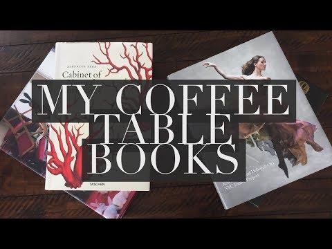 My Coffee Table Books
