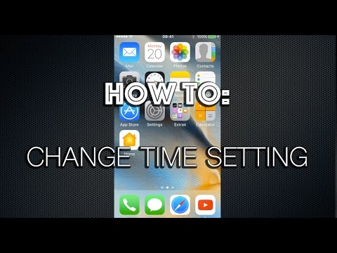 How To Change Time Settings On iPhone