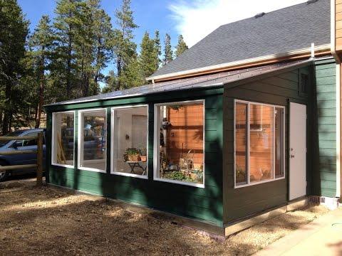 Building an Energy-Efficient Solar Greenhouse
