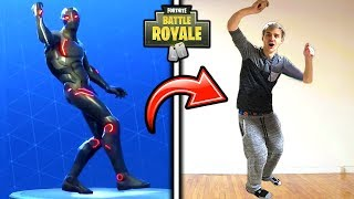 Ninja Does The Hype Emote Shoot Dance In Real Life Funny