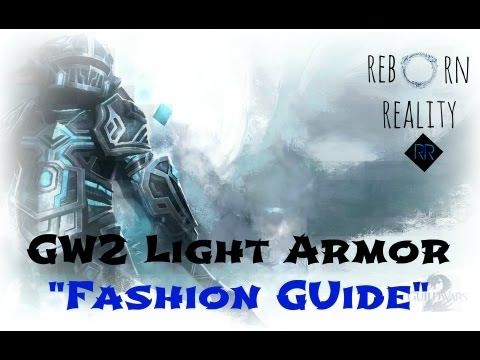 Guild Wars 2 - Fashion Guide, Tips to Make Your Light Armor Character Look Cooler