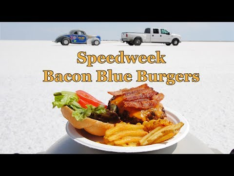 Bacon Blue Burger Recipe | Grilling at Speedweek
