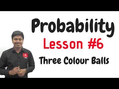 Probability_Three Colour Balls#LESSON-6