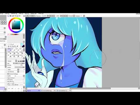 [SPEED PAINT] - Sapphire from Steven Universe