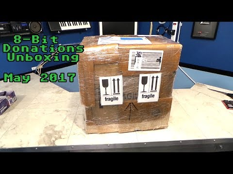 8-Bit Donation Unboxing May 2017