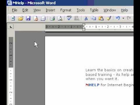 Microsoft Office Word 2003 Align floating objects relative to the page