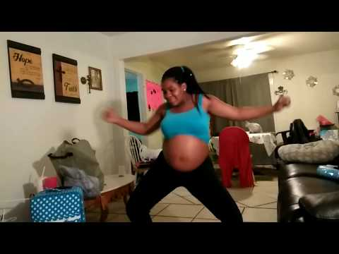 Trying To Go In Labor Dance.
