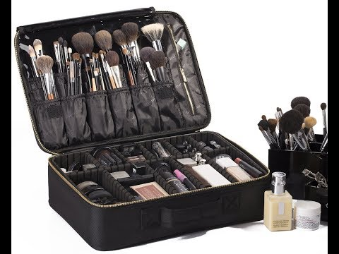 ROWNYEON Portable Professional Makeup Case