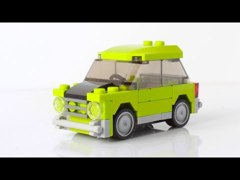 Lego Mr Bean's Mini Cooper (with instructions)
