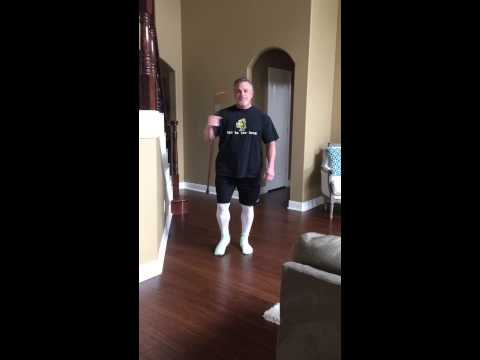 Progress Log- Day-3 After Total Hip Replacement-No more walker!!