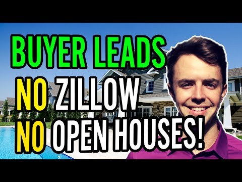 Real-Estate Buyer Leads (With NO Zillow, Open Houses, Or Cold-Calling)