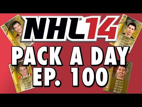 NHL 14 HUT | Daily Pack Opening! | Ep. 100