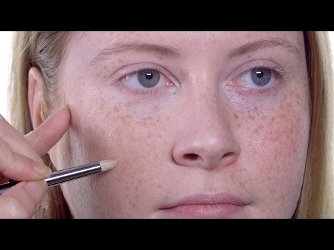 HOW-TO: FOUNDATION FOR FRECKLED SKIN I MAC TUTORIAL