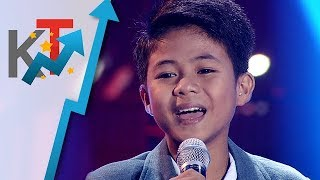 Vanjoss Bayaban - Power Of Love | The Voice Kids Philippines Season 4