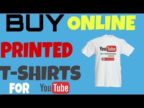Buy online YouTube printed T-SHIRTS at very cheap price