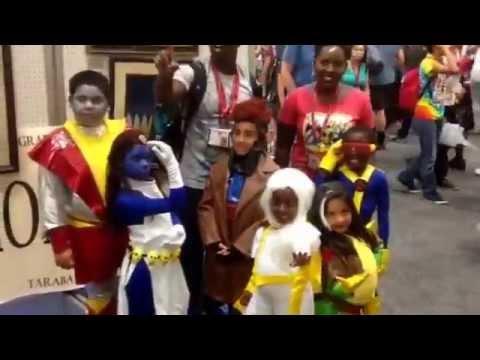 Cosplay SDCC: Kid X-Men San Diego Comic-Con 2014