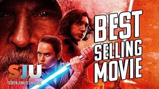 The Last Jedi is the Best Selling Movie of 2018 (FAN FRIDAY!) - SJU