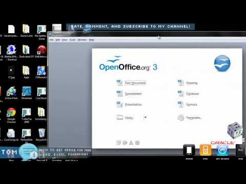 How to get Free Microsoft Office Word Excel Powerpoint OpenOffice Windows / Mac / Linux HD