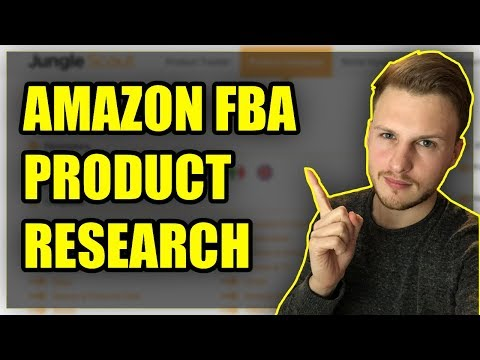 Product Research For Amazon FBA UK (Learn How To Sell On Amazon UK)