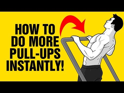 How To Do More Pull-Ups Instantly - Beginners - Bodyweight Exercises -  Sixpack Factory