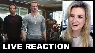 Download Avengers Endgame Special Look REACTION Video