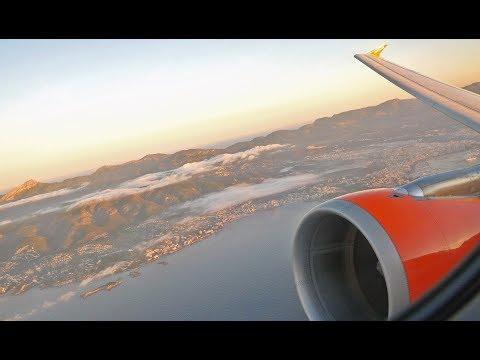 (4K) easyJet A320 | Palma De Mallorca to London Gatwick | Flight Video - EZY8622
