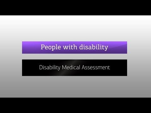 Disability Medical Assessments