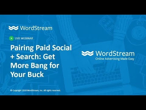 Pairing Paid Social + Search: Get More Bang for Your Buck