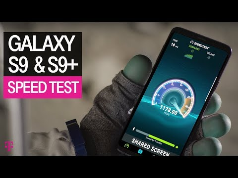 NEW Samsung Galaxy S9 & S9+ Specs: Speed Test & Fast Network | T-Mobile