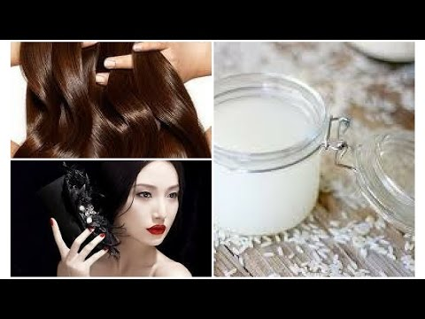 How to get beautiful flawless skin and healthy hair using rice water | Japanese beauty secrets