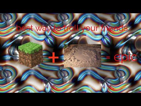 mcpe how to make quicksand no addons no mods no packs