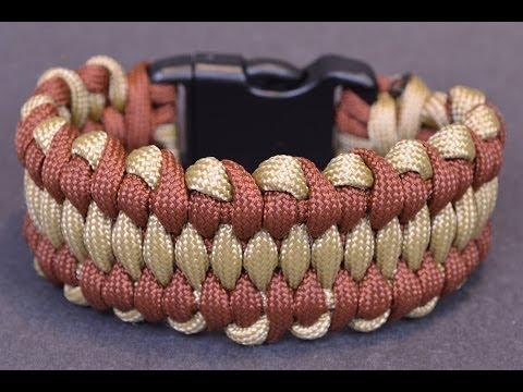 DIY the Wide Dragons Tongue Paracord Bracelet - BoredParacord