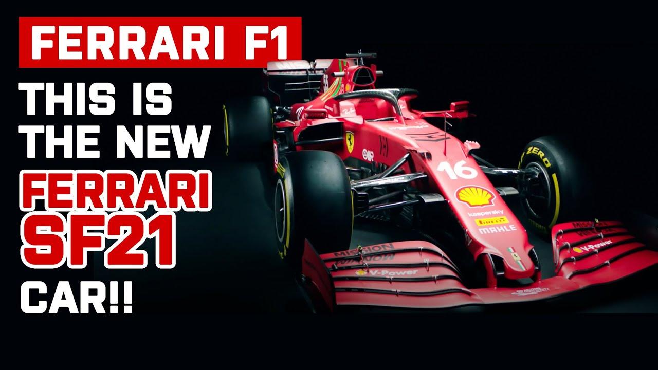 Ferrari F1 Car 2021 SF21 Unveiled!   The New Ferraril F1 Car for Charles Leclerc and Carlos Sainz