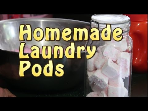Homemade Laundry Pods.