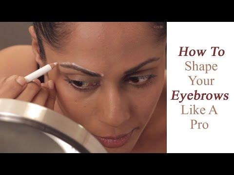 Eyebrow Basics : How To Find The Right Shape Of Your Eyebrows - Glamrs
