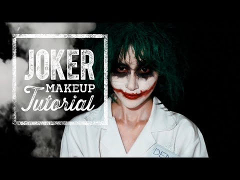 The JOKER Makeup Tutorial (EASY!) | Elle Yamada
