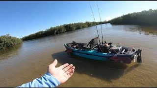 WOW OLD TOWN TOPWATER 120 PDL complete OVERVIEW Hobie