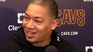 Tyronn Lue on returning to the bench for Cavs vs. Wizards