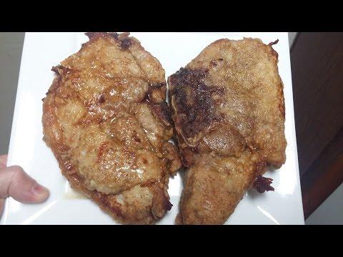 Skillet Fried Pork Chops Recipe