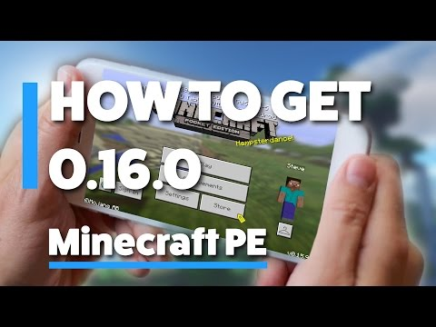 HOW TO GET THE 0.16.0 UPDATE - MINECRAFT PE