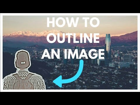 How to Outline an Image on Picsart