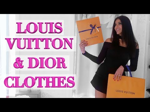 I Gave In! Designer Tshirt Unboxings - Louis Vuitton & Dior