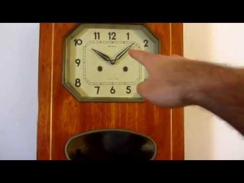 How to Regulate a Pendulum Wall Clock (Speed)