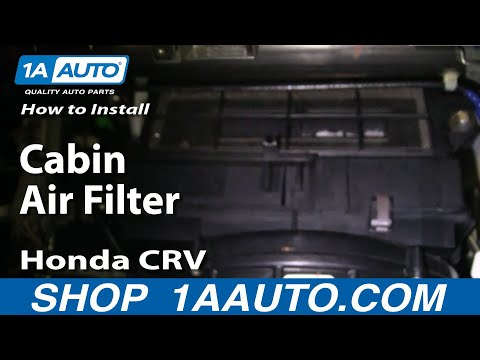 How To Install Replace Cabin Air Filter Honda CR-V 02-06 1AAuto.com