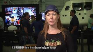 Astronauts Test Orion Evacuation Procedures   Video