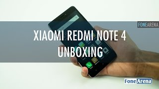 Xiaomi Redmi Note 4 Unboxing in India - Snapdragon 625