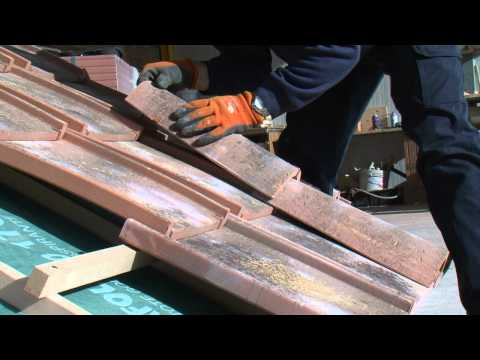 SOLAVA TUSCANY CLAY ROOF TILE ROMAN PANS
